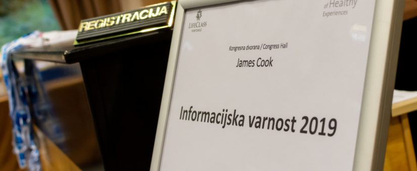 Konferenca Informacijska varnost: zaupanje v človeka in tehnologijo